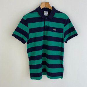 LACOSTE Big Stripe Regular Fit  Polo T - Shirt